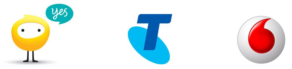 Telco logo examples