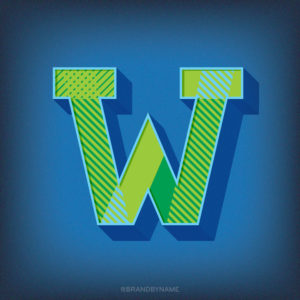 Letter W from 36 Days of Type challenge