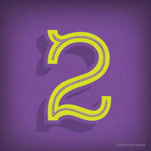 Number 2 from 36 Days of Type challenge