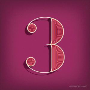 Number 3 from 36 Days of Type challenge
