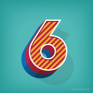 Number 6 from 36 Days of Type Challenge
