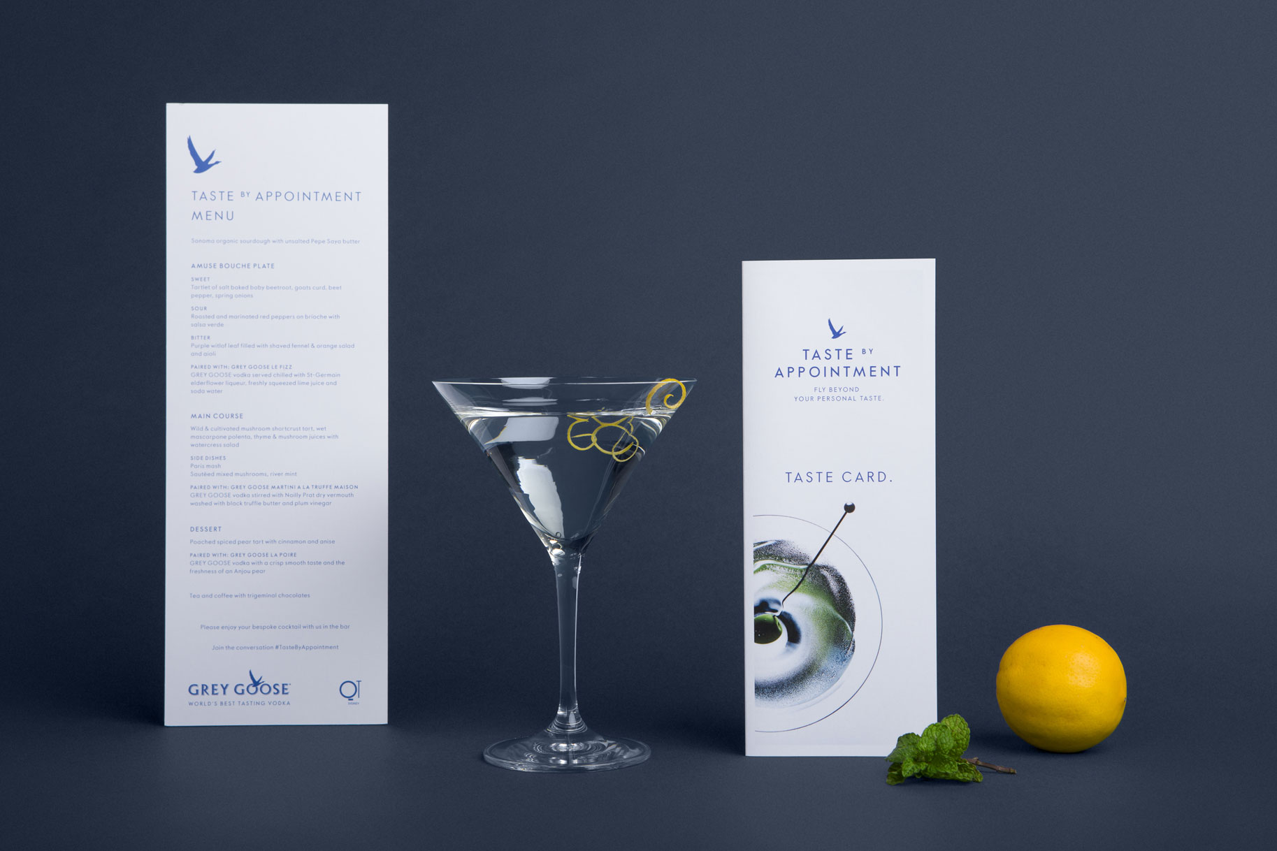 Grey Goose Taste by Appointment event