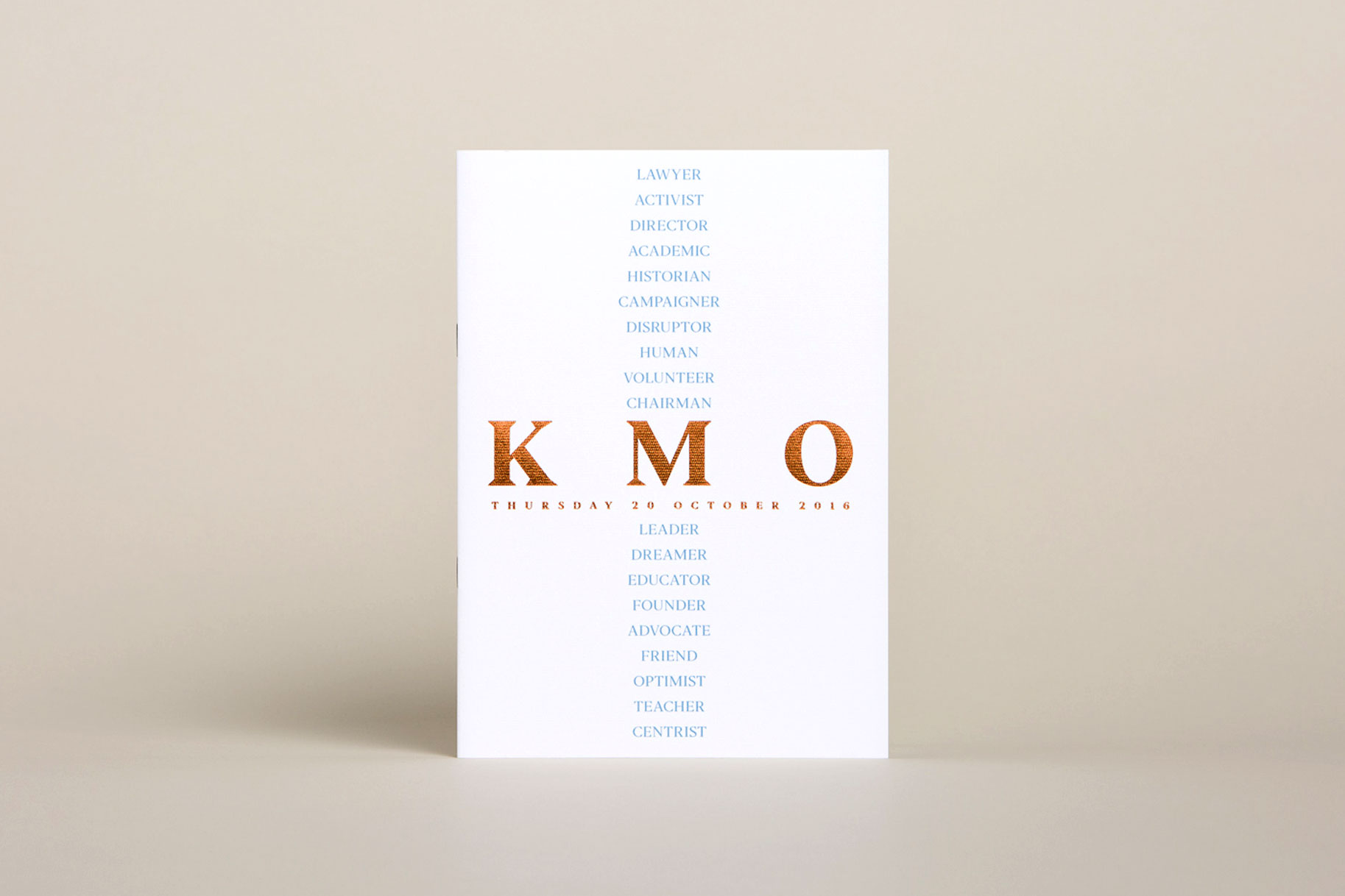 Keith Murdoch Oration - invitation