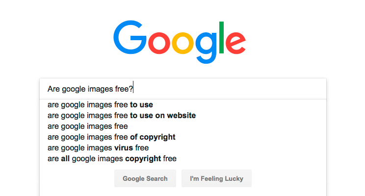 Are Google Images free